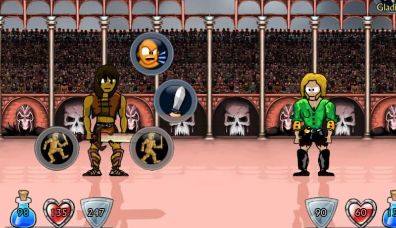 Swords and Sandals 2 Spil det populære gladiatorspil